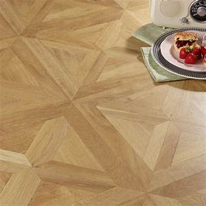 staccato natural oak parquet effect laminate flooring 186 With parquet vinyl a clipser