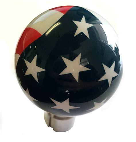 corvette shift knob airbrushed american pride flag