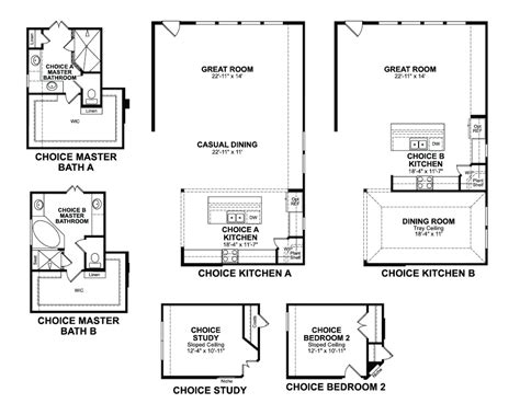 beazer homes cameron floor plan