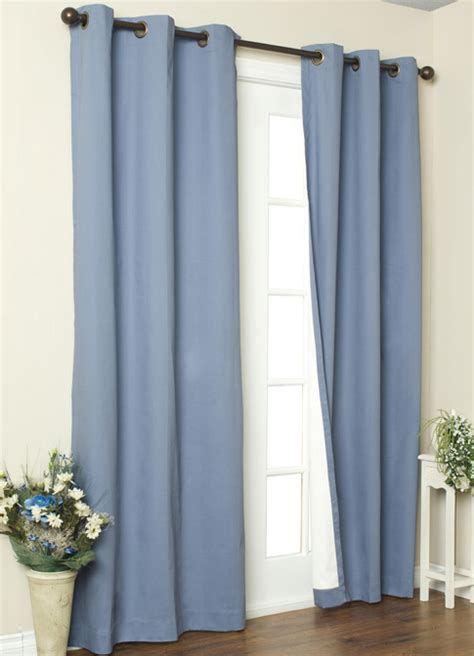 weathermate insulated grommet top curtains thermal