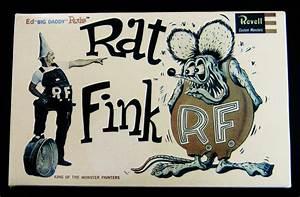 Revell Rat Fink : 腐乱犬の海外・洋物ガレージキット実験室