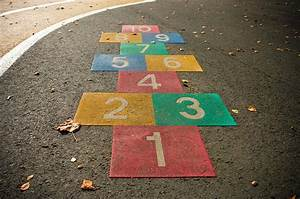 Hopscotch Game Photograph by Hans Engbers