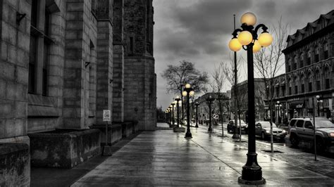 full hd wallpaper saint petersburg autumn street evening
