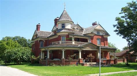 Old Victorian Style Houses House Abandoned Authentic Plans