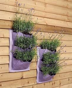 Weinregal Für Die Wand : pflanztaschen f r die wand the garden shop ~ Markanthonyermac.com Haus und Dekorationen