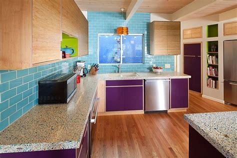 purple kitchen backsplash purple kitchen designs pictures and inspiration