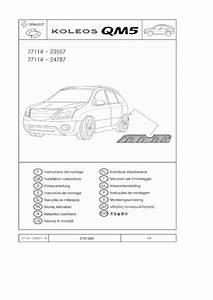 Renault Koleos Instruction Wiring Harness