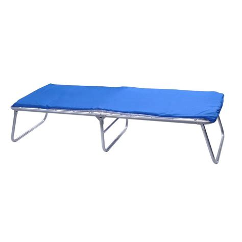 cot with mattress gigatent 24 8 in x 69 in comfort cot with 1 in foam