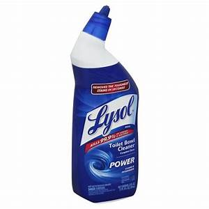 Lysol complete clean toilet bowl cleaner power 24 oz btl for Lysol power bathroom cleaner