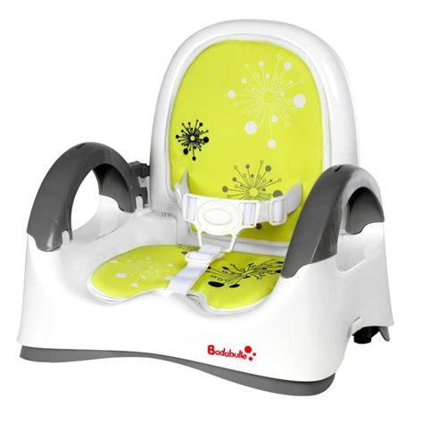 réhausseur chaise badabulle badabulle réhausseur confort blanc vert blanc vert