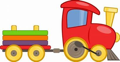 Train Clipart Trains Clip Animated Cliparts Toy