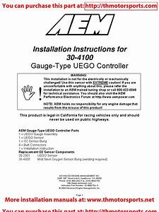 Installation Instructions For 30