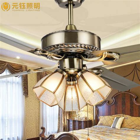 Led Lights For Room Wish by Europe Vintage Mute Led Ceiling Fan With Light For Living