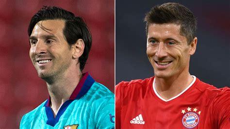 Barcelona vs bayern munich stars come head to head in lisbon. Barcelona vs Bayern Munich: Messi meets Lewandowski - CNN