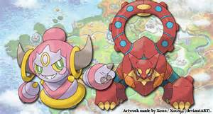 hoopa volcanion event text revealed