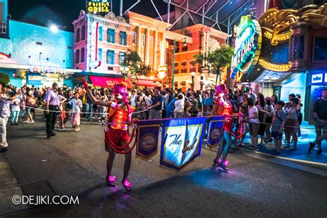 Hollywood Dreams Light Up Parade At Universal Studios