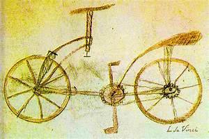 Da Vinci Inventions First Bicycle Sketch By Da Vinci