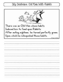 silly sentence handwriting short funny sentences