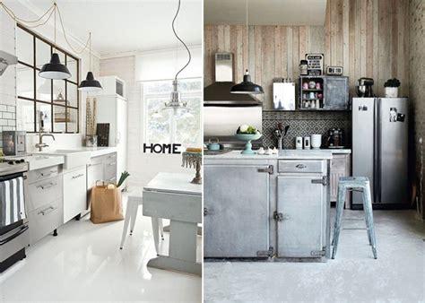 cuisine type industrielle une cuisine pour chaque style mademoiselle claudine le