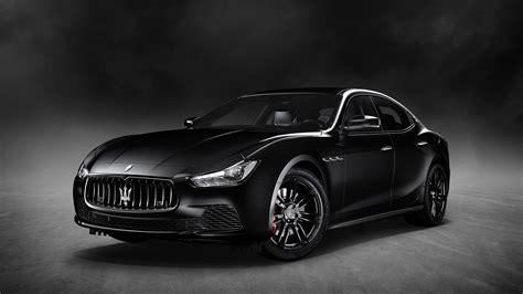 Maserati Ghibli Nerissimo Black Edition 4k 2018 Wallpaper