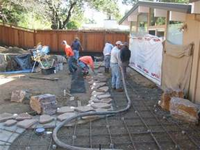 cement patio cost poured concrete wall designs resurfacing