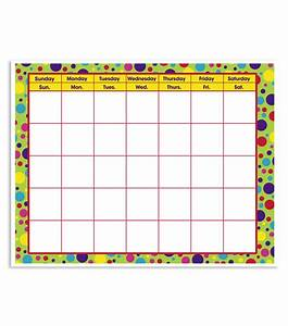 Busy Kids Learning Large Classroom Chart - Calendar Polka