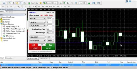 mt4 chart trader on chart the 1 click forex trading ea for