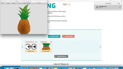 You can convert your png as well as jpg. How to Convert SVG to PNG Online for Free - YouTube