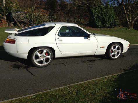 porsche 928 white 1989 porsche 928 gt white manual genuine gt not s4