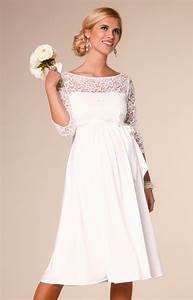 lucia maternity wedding dress short ivory maternity With robe de grossesse pour mariage