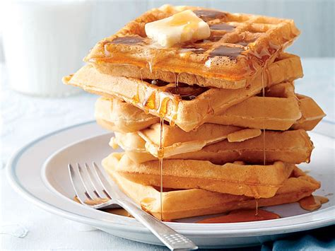 fluffy buttermilk waffles recipe myrecipes