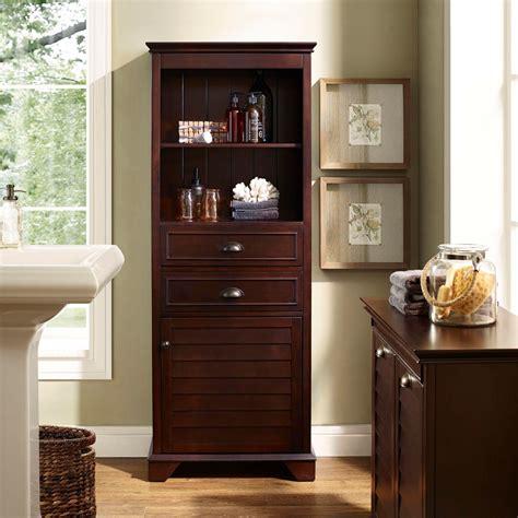 crosley cf es lydia tall cabinet  espresso wood