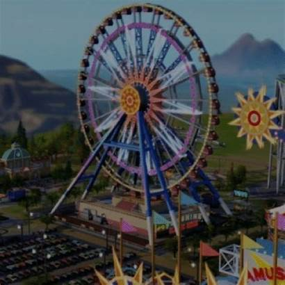 Park Theme Animated Minecraft Gifer