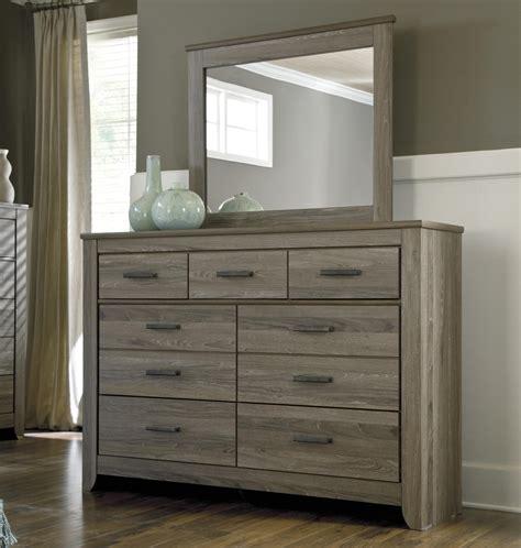 ashley signature design zelen rustic tall dresser