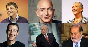The Top 20 Richest People In The World 2017 Wealthy ...