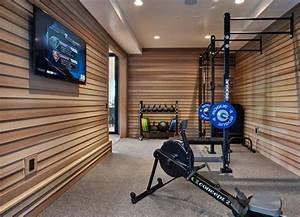 Fitnessstudio Zu Hause : 12 home gyms for the modern home gym interiors pinterest haus fitnessstudio zu hause and raum ~ Indierocktalk.com Haus und Dekorationen