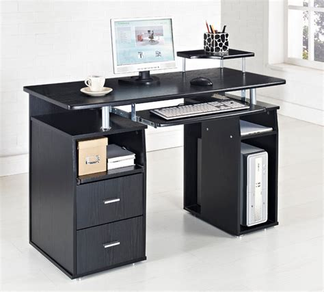 paisley home office computer desk black computer desk home office table pc furniture work