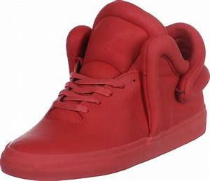 chaussure supra homme rouge
