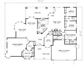 5 bedroom house floor plans 5 bedroom house plans design interior