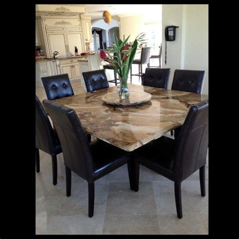 granite table images  pinterest dining room