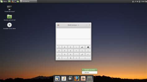supprimer icone bureau comment déplacer le tableau de bord sous linux mint 18 1