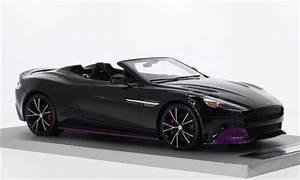 Aston Martin Miniature : aston martin vanquish miniature volante noire dunkelrouge tecnomodel 1 18 voiture ~ Melissatoandfro.com Idées de Décoration