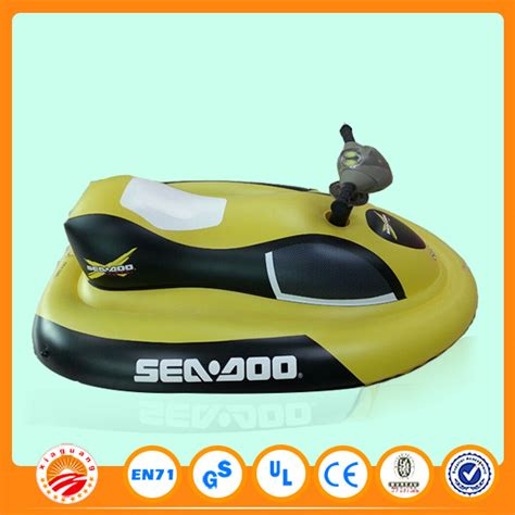 Inflatable Electric Water Scooter by Children Inflatable Electric Jet Ski Inflatable Sea