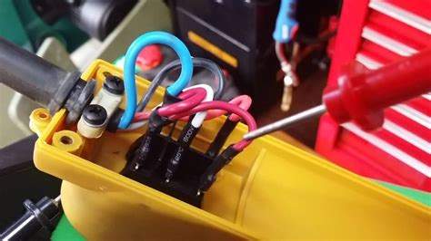 harbor freight    volt electric winch wiring youtube