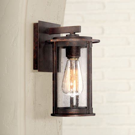 franklin iron works vintage industrial outdoor wall light