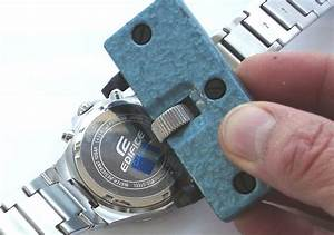 Replacing A Watch Battery In A Screw Back Watch Case From