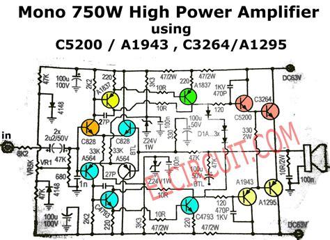Mono Power Amplifier Schematic Pcb Don Stereo