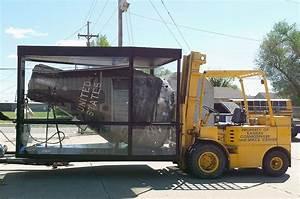 Mercury space capsule returns to Kansas after overseas art ...