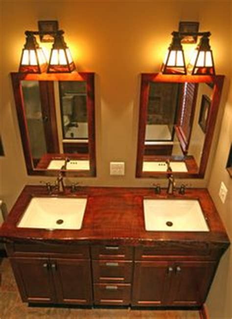 Craftsman Style Bathroom Vanity Lights 1000 Images About Arts Crafts Bathrooms On