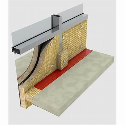 Curtain Wall Rockwool Insulation Exterior Firestop Wool